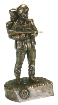 Irish Soldier with Helmet and CEMO