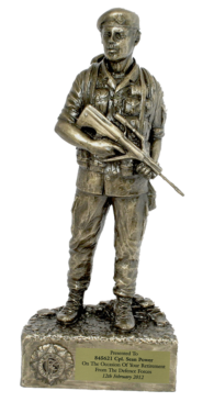 Irish Soldier Figure in Beret CEFO