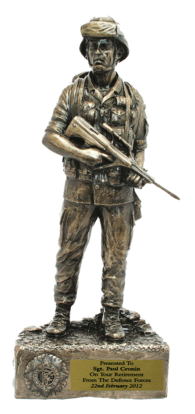 Irish Soldier Figure in Helmet CEFO