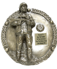 Irish Soldier Wall Plaque